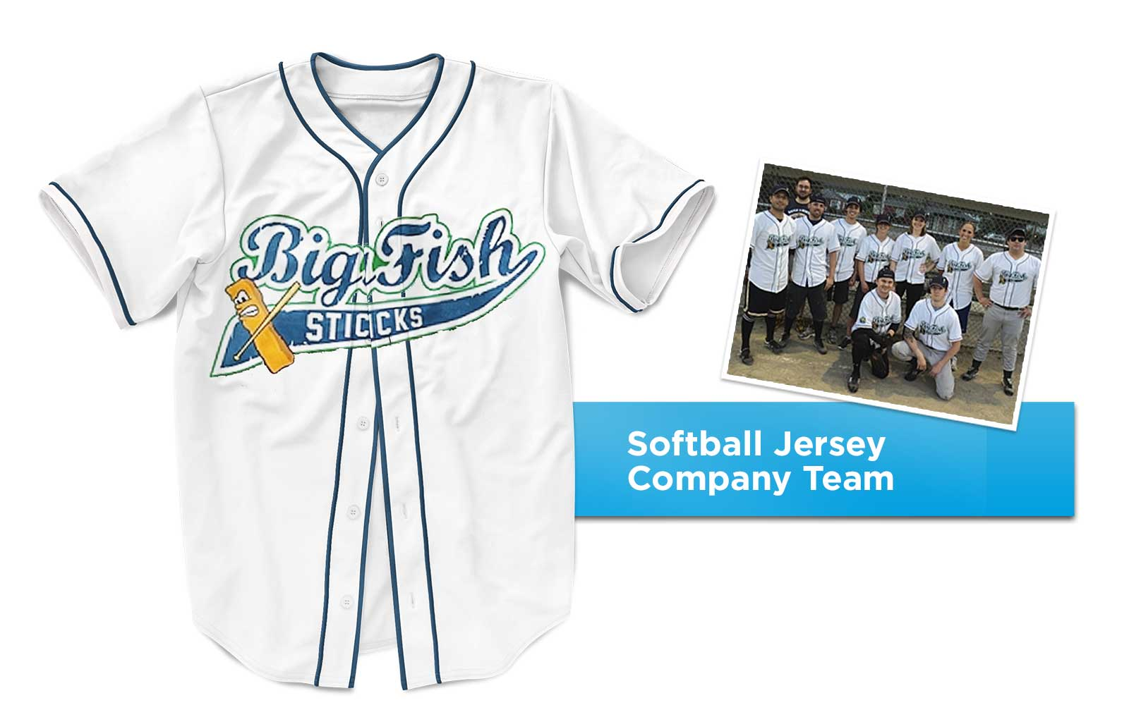 Big Fish Sticks Jersey